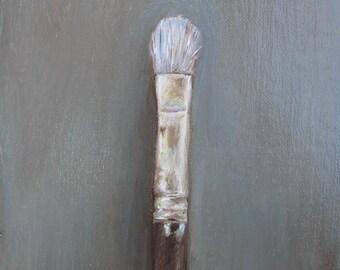 PAINTBRUSH small painting by Carey Pavlik