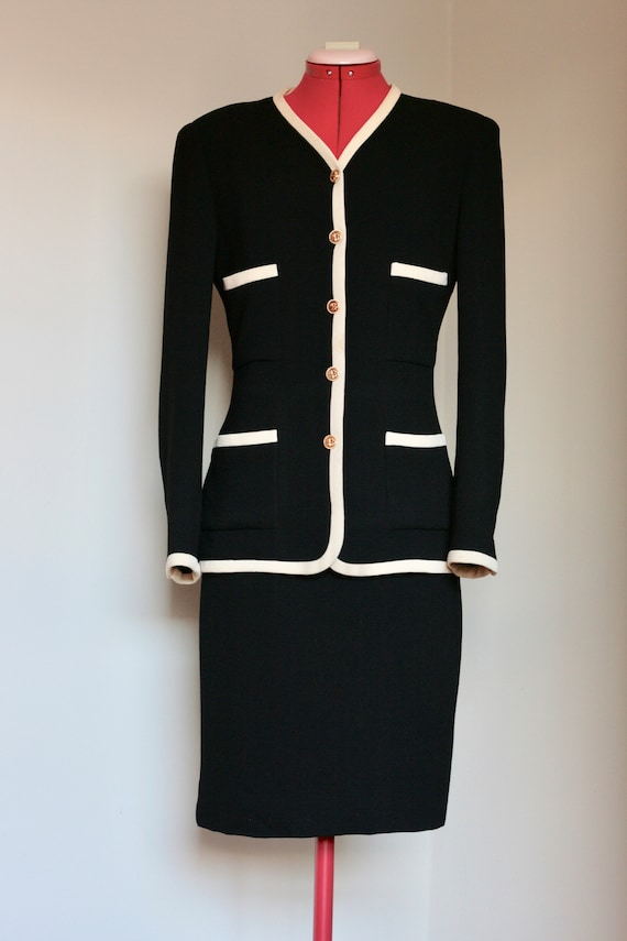 Classic Chanel Skirt Suit