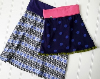 Jenna Knit Skirt Pattern - Womens PDF Pattern - Sizes 2-14