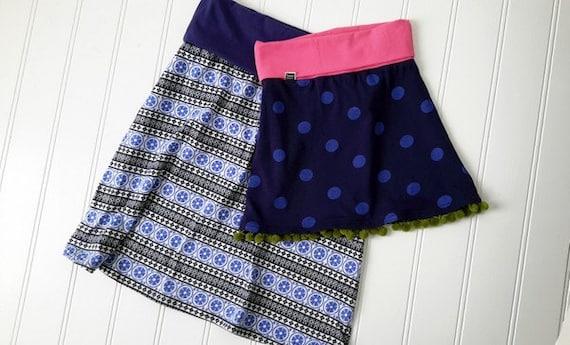 Jenna Knit Skirt Pattern Womens Pdf Pattern Sizes 2 14 Etsy