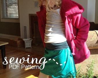 Sami Skirt - PDF Pattern - Instant Download