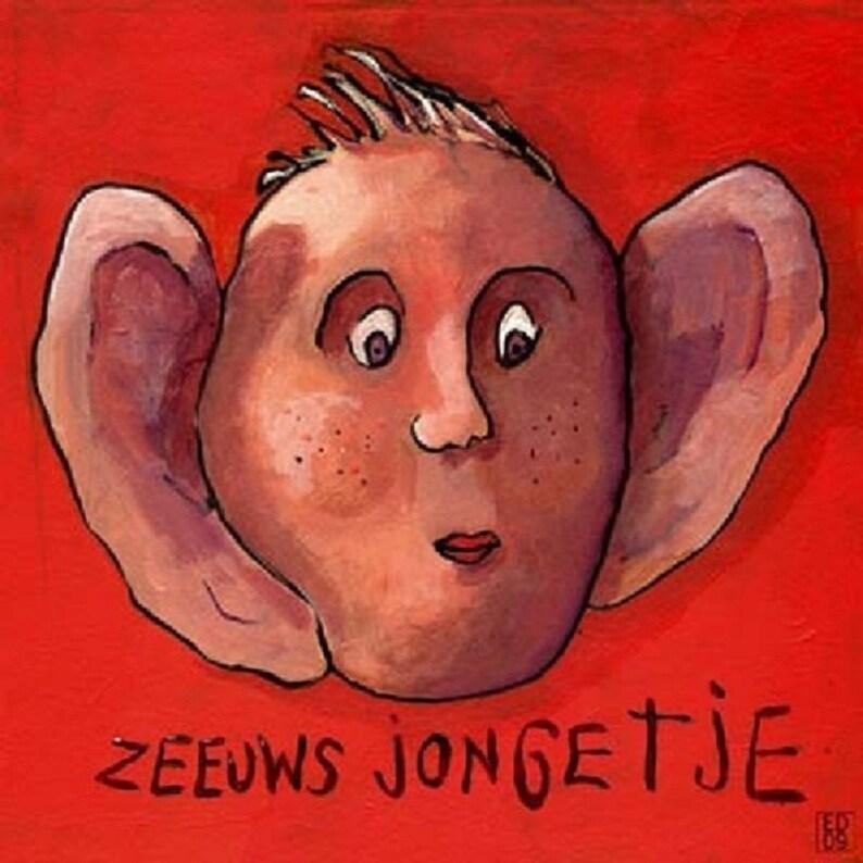 062 Zeeuw Jongetje \u2013 print 20x20cm8.5x8.5\u201d