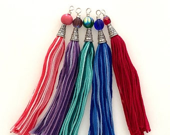 Ornate Handmade Tassel for Jewelry Making and Crafts