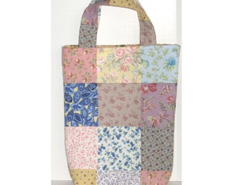 The Meadow Patchwork Knitter's Tote