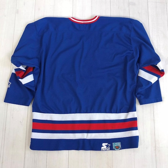Vintage 80s   90s Starter New York RANGERS JERSEY NHL sewn  4f7c1d4b6