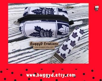 Maple Leafs | Key Fob | Tee Holder | Zipper Pouch (F)