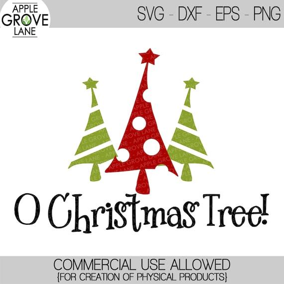 O Christmas Tree Svg Christmas Svg Christmas Tree Clip Etsy