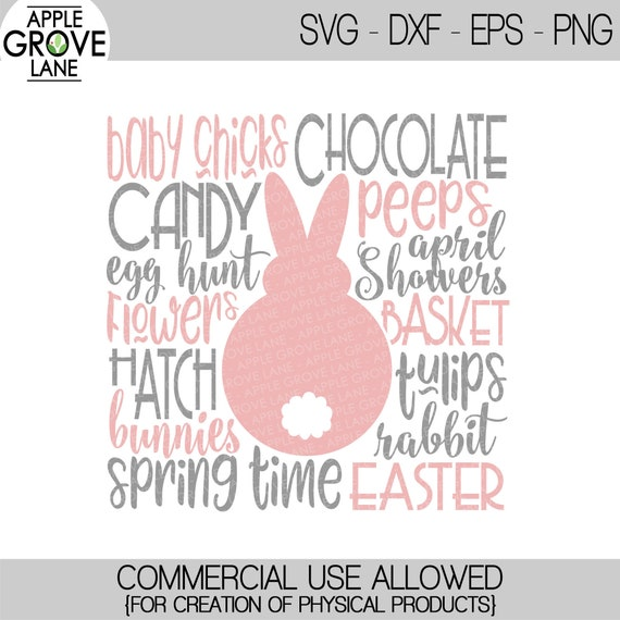 Farmhouse Easter Subway SVG DXF