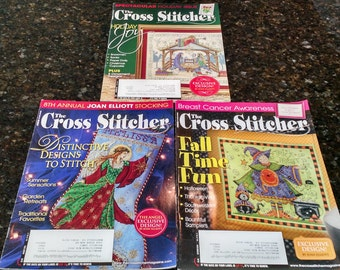 3 of The Cross Stitcher Magazines