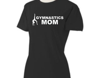 07faa430e5 Personalized Gymnastics Mom Shirt custom competition Gymnast shirt