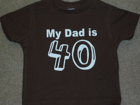 Custom Shirts 40th Birthday Matching Men And 2 Youth