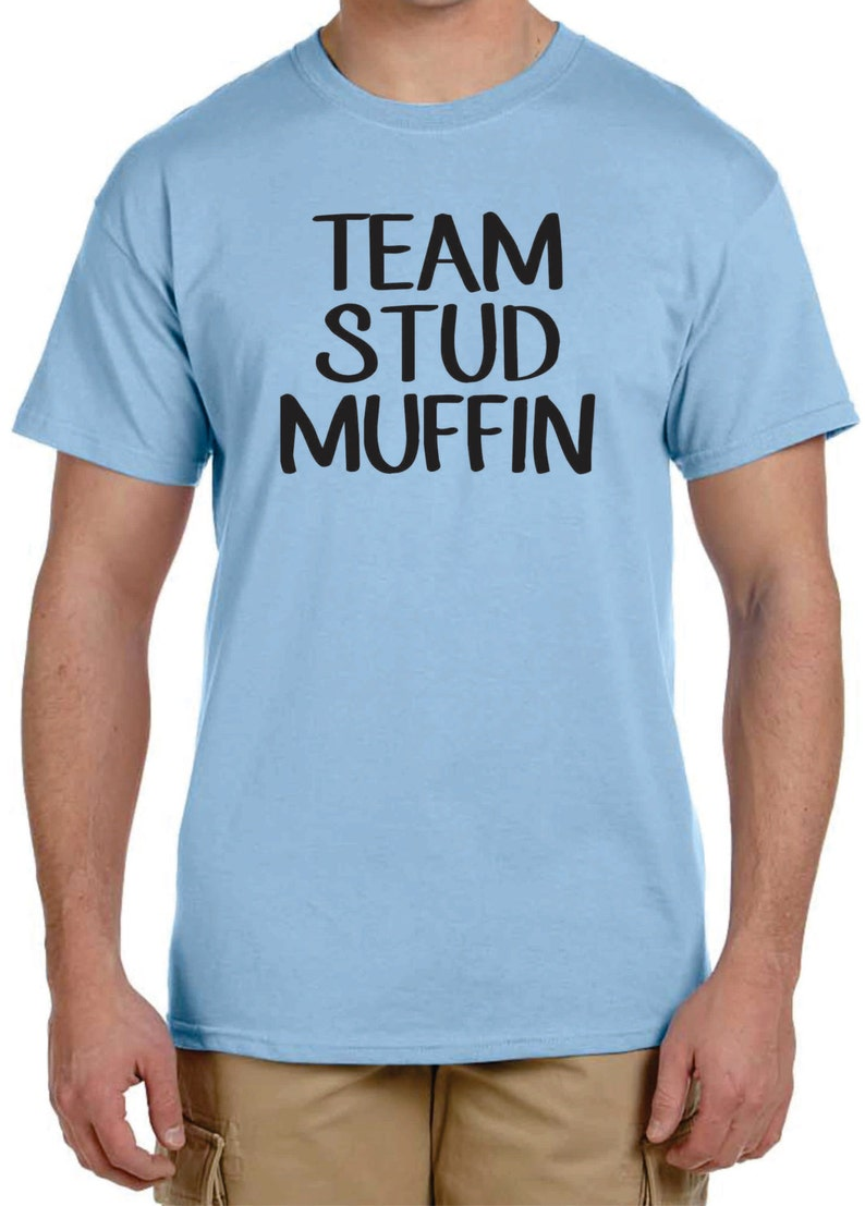 Gender Reveal T-shirt Ideas, Team Stud Muffin Or Team Cupcake, Funny  T-shirts, Custom T-shirt Design, Team Boy, Team Girl, Size 2x Or 3x