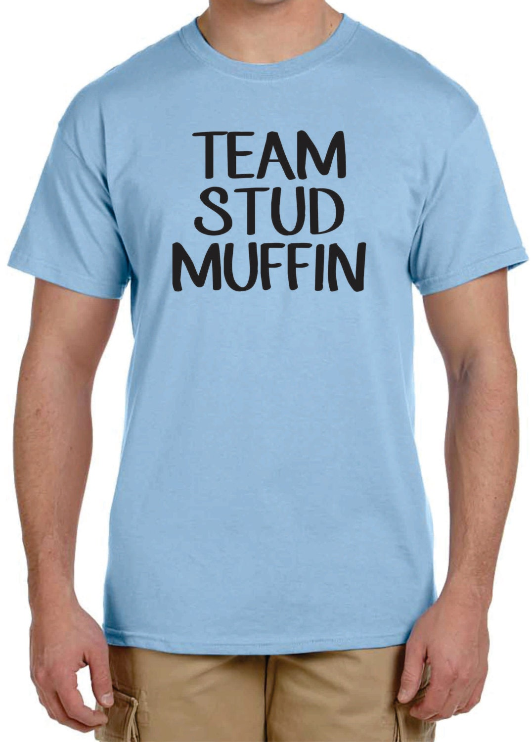 Gender Reveal T Shirt Ideas Team Stud Muffin Or Team Cupcake Etsy