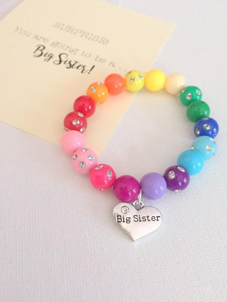 Big Sister bracelet big sister jewelry big sister jewellery image 0