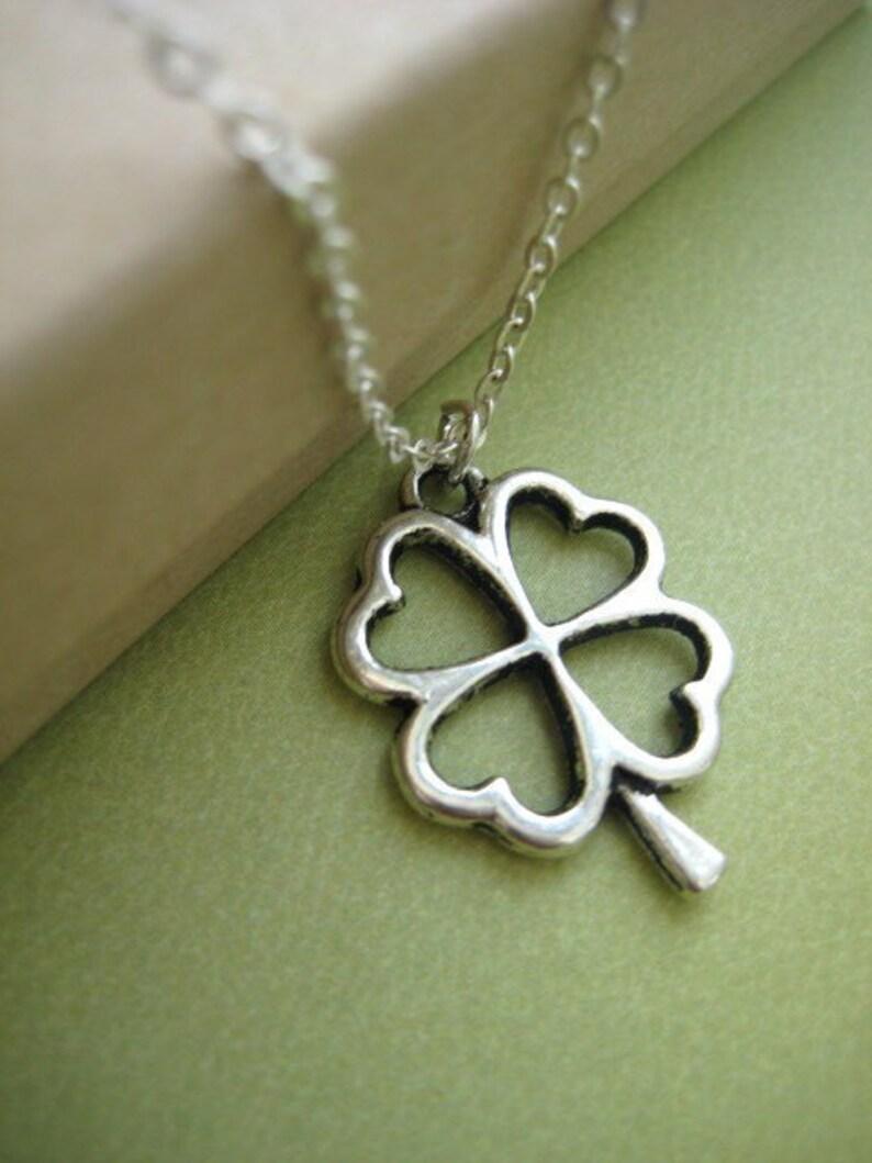 Shamrock necklace. image 0