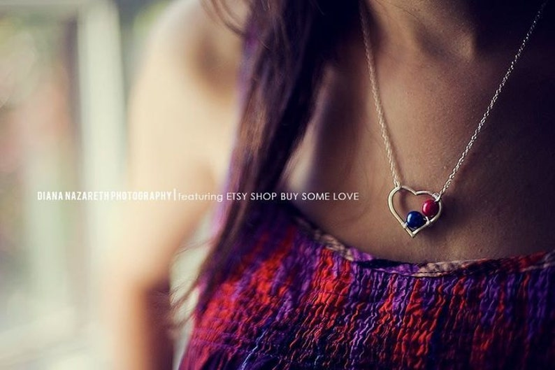 Mother's Day. Birthstone Mother Grandmother Heart image 0