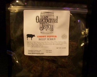 Ghost Pepper Steak Cut Beef Jerky