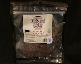 Teriyaki Steak Cut Beef Jerky