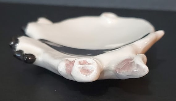 PIG TEABAG HOLDER JEWELRY TRAY  SPOON REST READY TO PAINT CERAMIC BISQUE