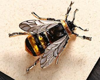 Beautiful Honeybee Lapel Pin