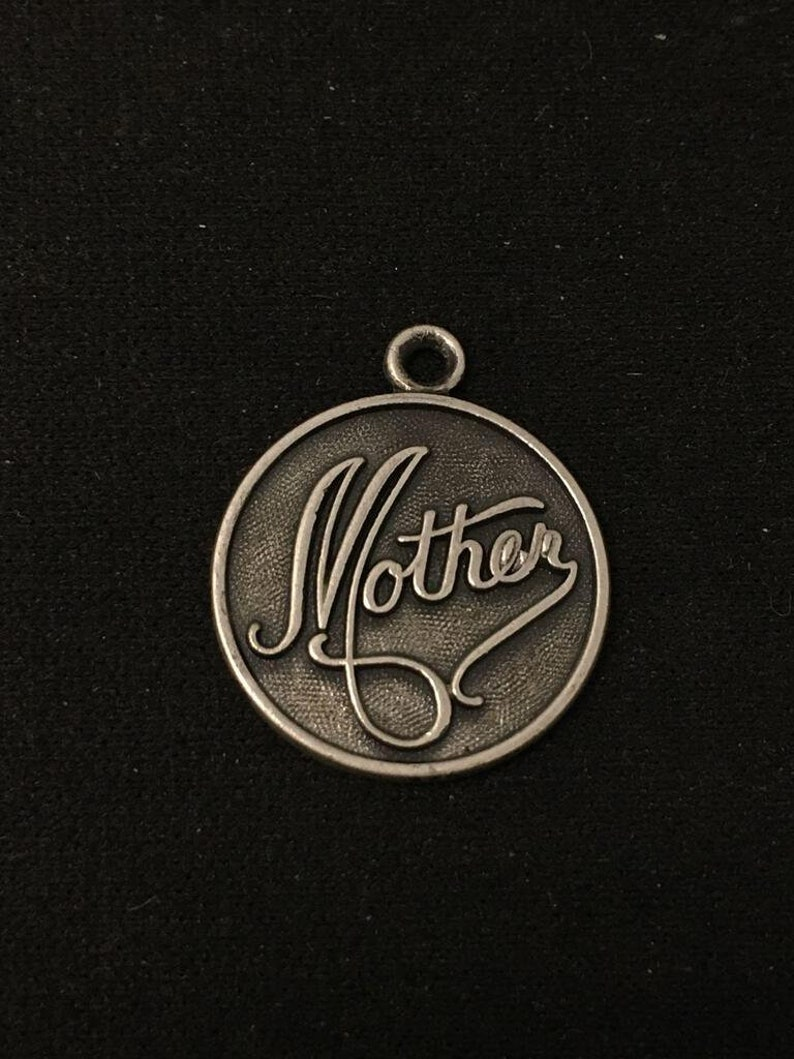 Vintage Sterling Silver Mother Charm by Danecraft