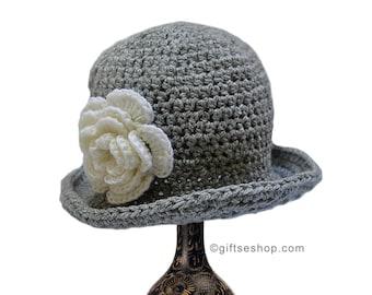 Baby Girl Hat Crochet Pattern Newborn Baby Hat Photo Prop, Newborn Girl no87