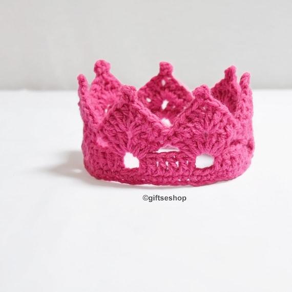 Crochet Crown Pattern-Tiara Headband Crown Headband Crown