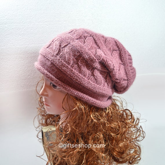 Slouchy Beanie Knitting Patterns Slouch Hat Beanie Knitting  c014a13f105