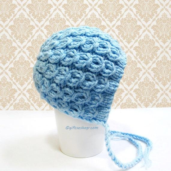 Baby-Motorhaube Muster Baby Bonnet Baby Mütze Stricken