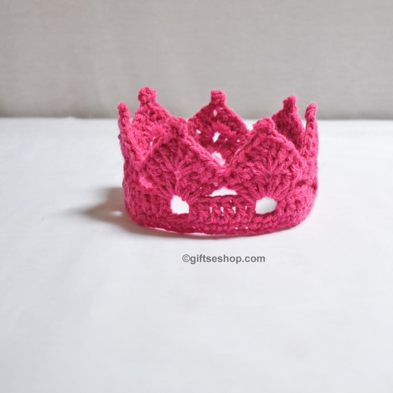 Crochet Crown Pattern Tiara Headband Crown Headband Crown Etsy