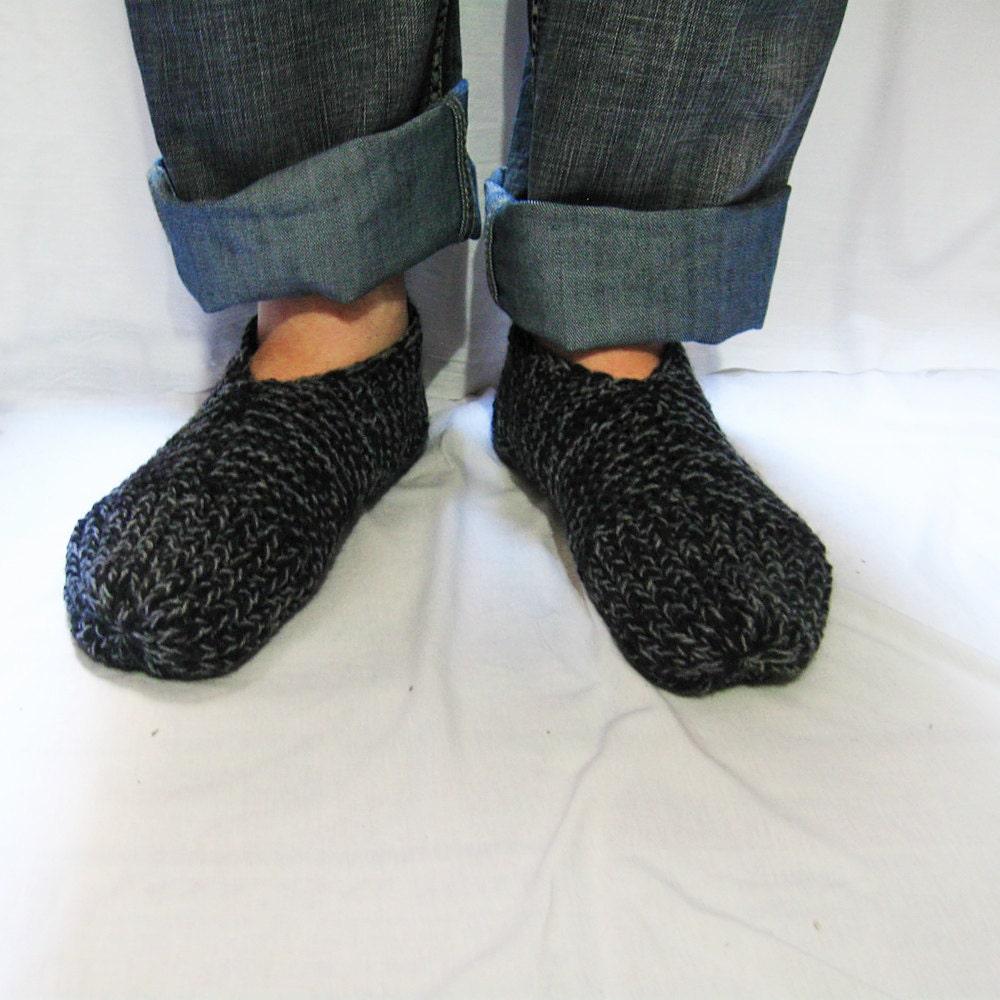 Easy Slippers Knit Pattern for Men — Slipper Socks n48 from ...