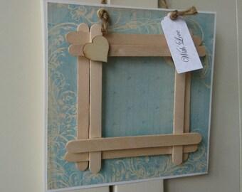 Photo Frame Hanging Card