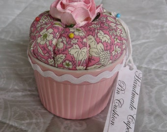 Cupcake Pin Cushion