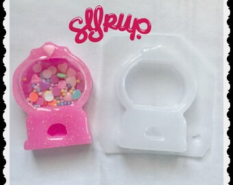 Syrupy Sweet 4 cavity Small Kawaii Bear  Handmade Plastic Resin Mold