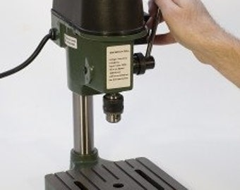 8424PV 3-1 2 inches Swivel Head Ball Pin Vise Benchtop Drill Press By EUROTO