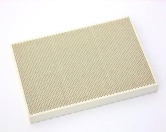 Medium Sized Honeycomb Ceramic Soldering Block