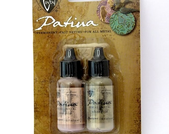 Vintaj Patina Ink Set - 2Colors - Cherished Adornment