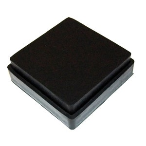PARUU\u00ae Rubber block for jewellers  2X2X1 st330-2x2x1