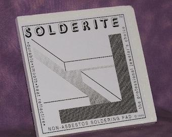 Solderite Block 6x6x1/2 Inch Soldering Block Hard