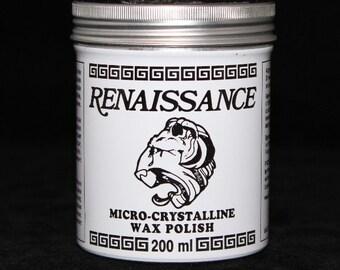 Renaissance Wax Polish The Perfect Protective Coating Large 7 oz