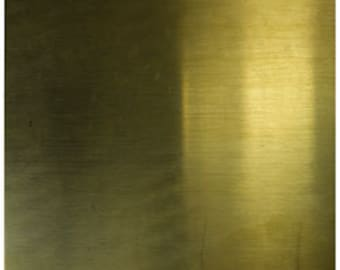 Brass Sheet 22gauge 6 x 6 inch 0.64mm Thick New Lower Price