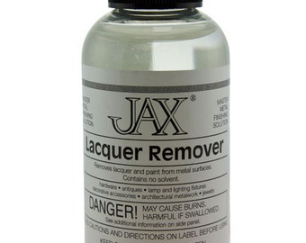Lacquer And Paint Remover Water Based 2 oz Bottle By Jax