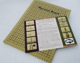 Beadsmith Macrame Board 11.5 x 15.5 Inch