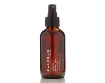 Hydrating Facial Toner // Rosewater + Chamomile // natural skincare // pH balancing // brightening // essential oils // vegan //