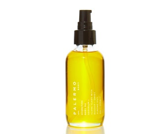Hydrating Body Oil // Geranium + Ylang Ylang with Rosehip + Sweet Almond Oils // moisturizing // natural ingredients // nourishing //