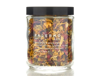 Botanical Facial Steam // Healing Floral + Herbal Blend w/ Calendula + Comfrey // soothing // rejuvenating // hydrating // relaxing