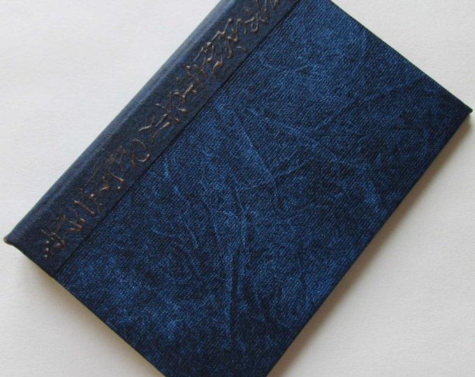 Refillable Journal Handmade Distressed Indigo blue Original 6x4 navy traveller notebook