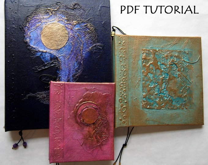PDF Tutorial for Refillable Handmade Journal Base