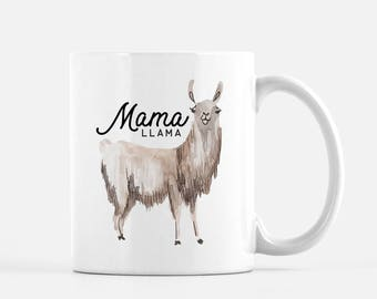 Coffee Mug, Llama Mug, Mama Llama, Funny Coffee Mug, Mothers day Gift, Gift for Mom, Gift for Wife, New Mom, Baby Shower Gift, Mom Gift