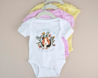 IGENERAL Guinea Pigs Unisex Baby Onesie Lovely Newborn Clothes Unique Baby Outfits Comfortable Baby Clothes